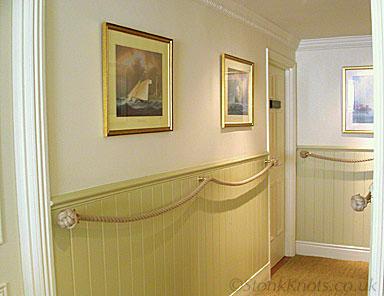 hallway rope
