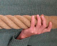65mm polypropylene rope